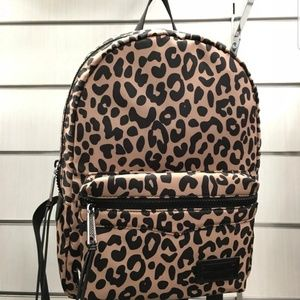 RARERebecca minkoff medium leopard print backpack
